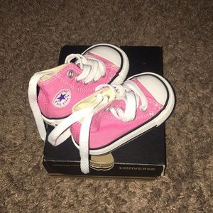 Converse baby hard soles/box included